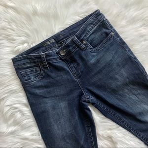 Kut from the Kloth Blue Straight Leg Petite Jeans